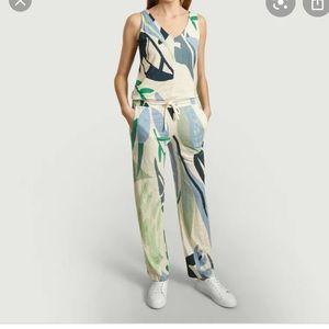 NEW | Majestic Filatures Linen Blend Jumpsuit